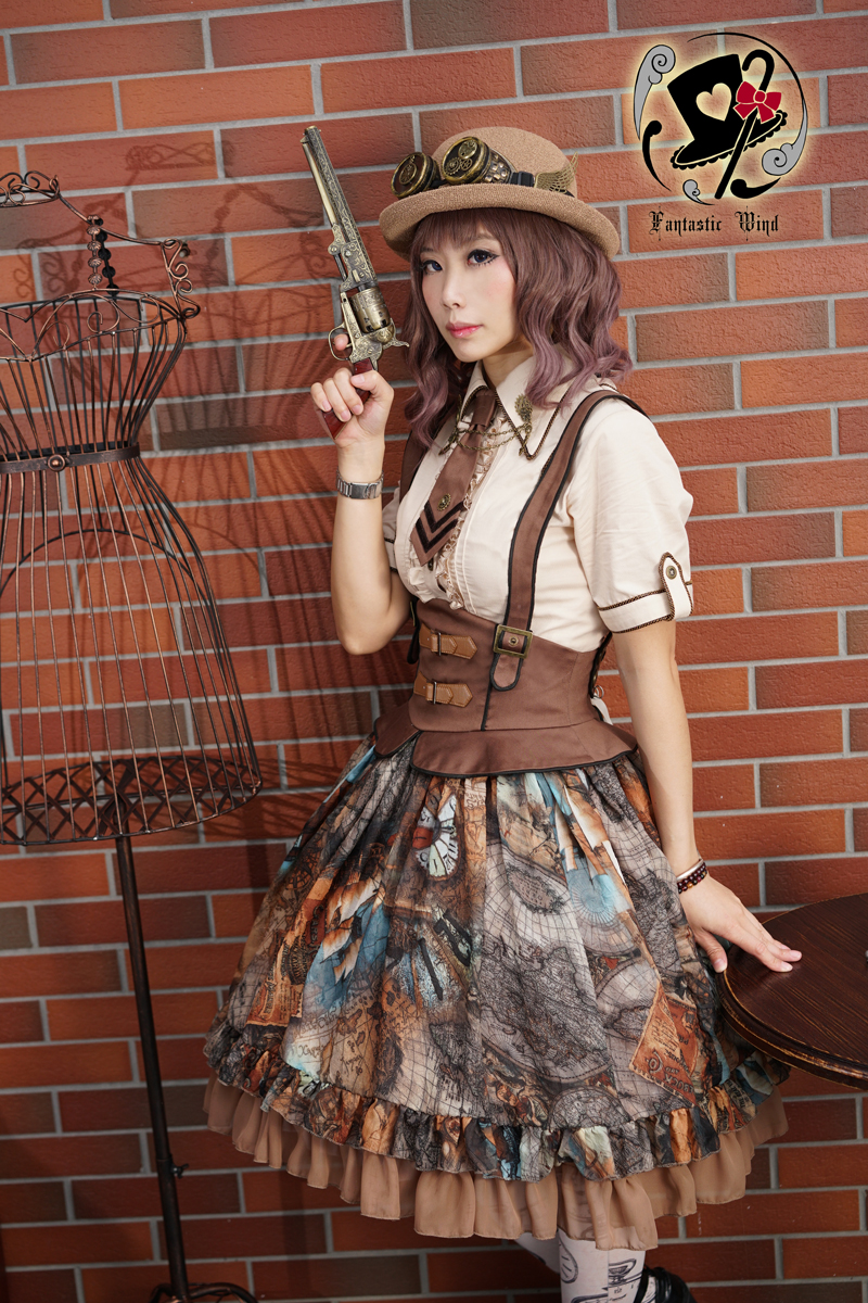 Dream Pointer Cool Summer Fish Bone Fantastic Wind Lolita SK