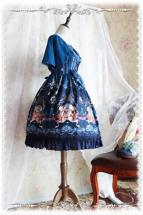 The Little Mermaid Infanta Lolita Cape
