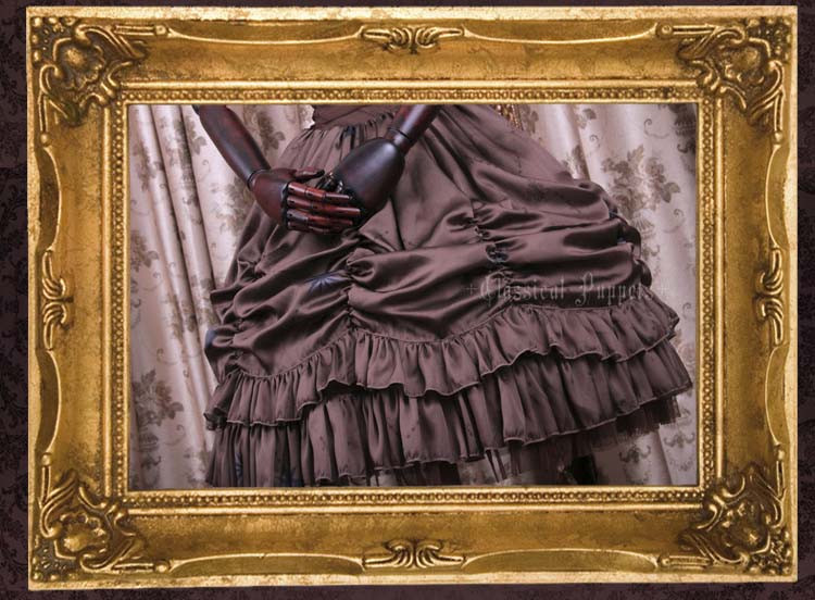 Elegy Gothic Classical Puppets Lolita Jumper Dress Short Version