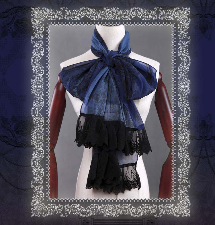 The 10th Anniversary Classical Puppets Lolita Scarf Short Version