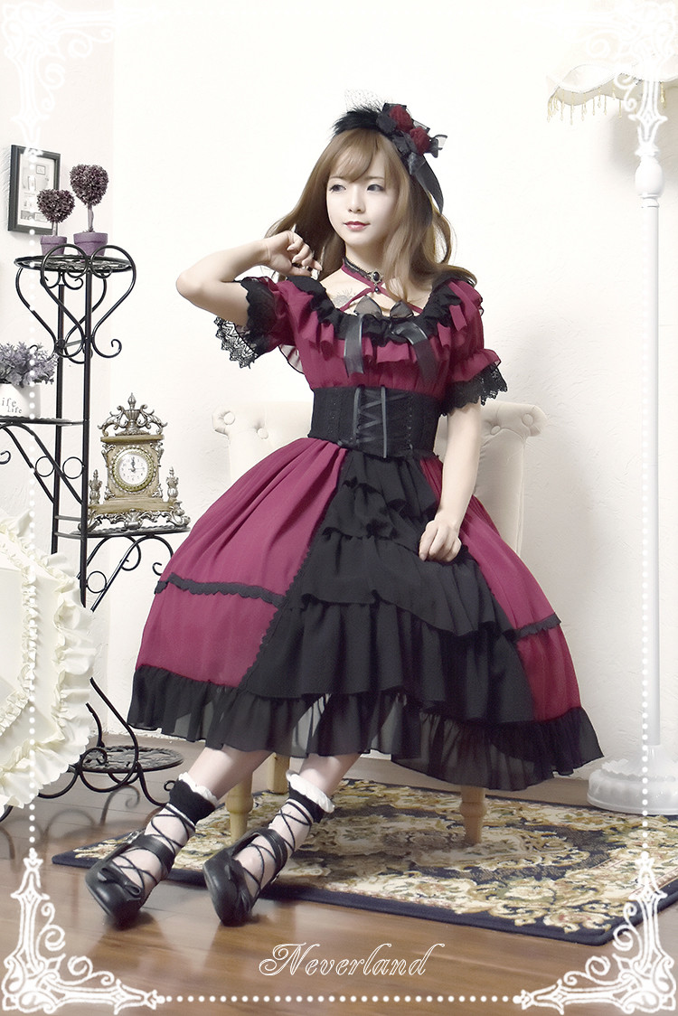 Colorful Fairy Tales- Open Front Design Neverland Lolita OP Dress