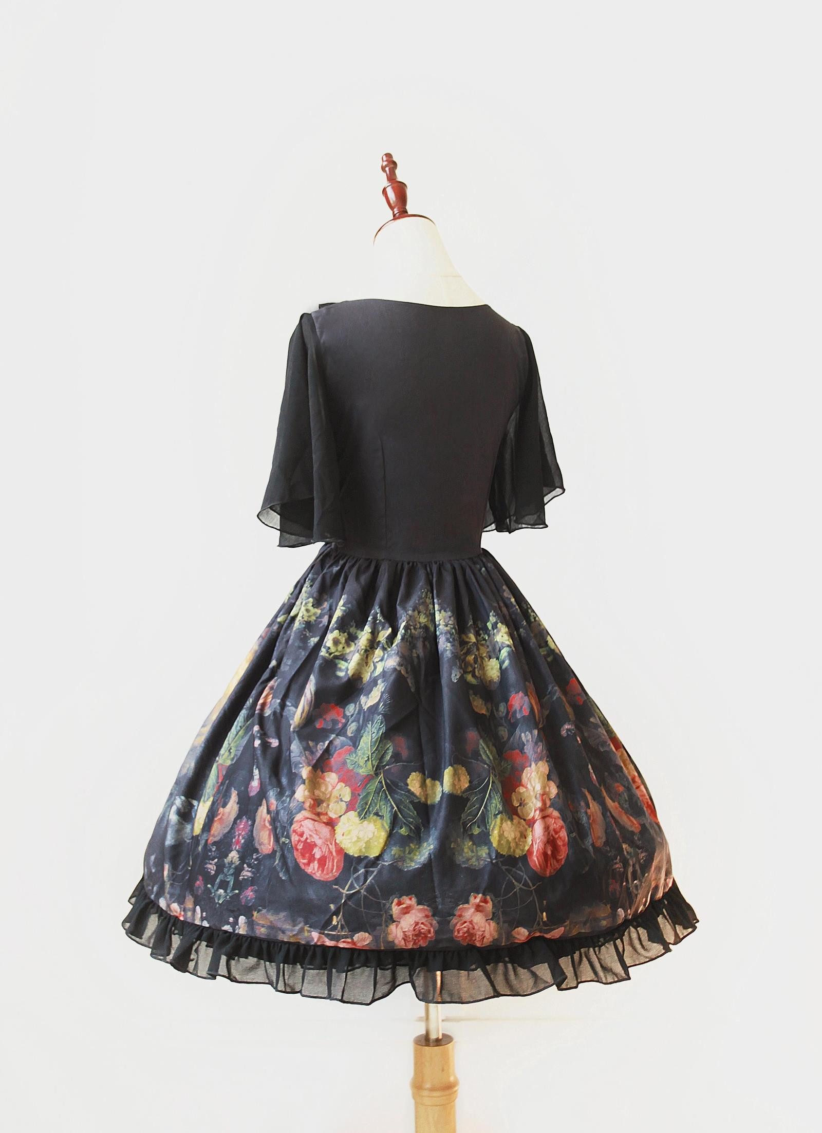 Maidens Garden Neverland Lolita Chiffon OP Dress Two Versions