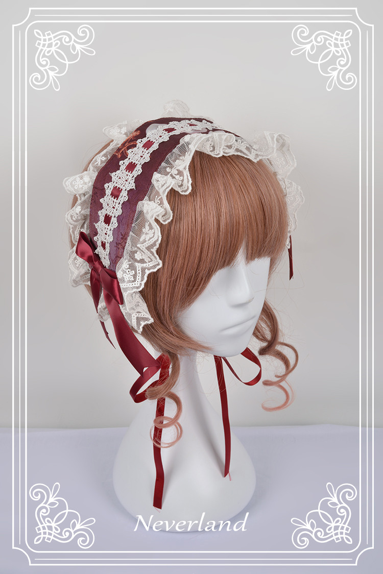 Midsummer Night High Waist Neverland Lolita Headband