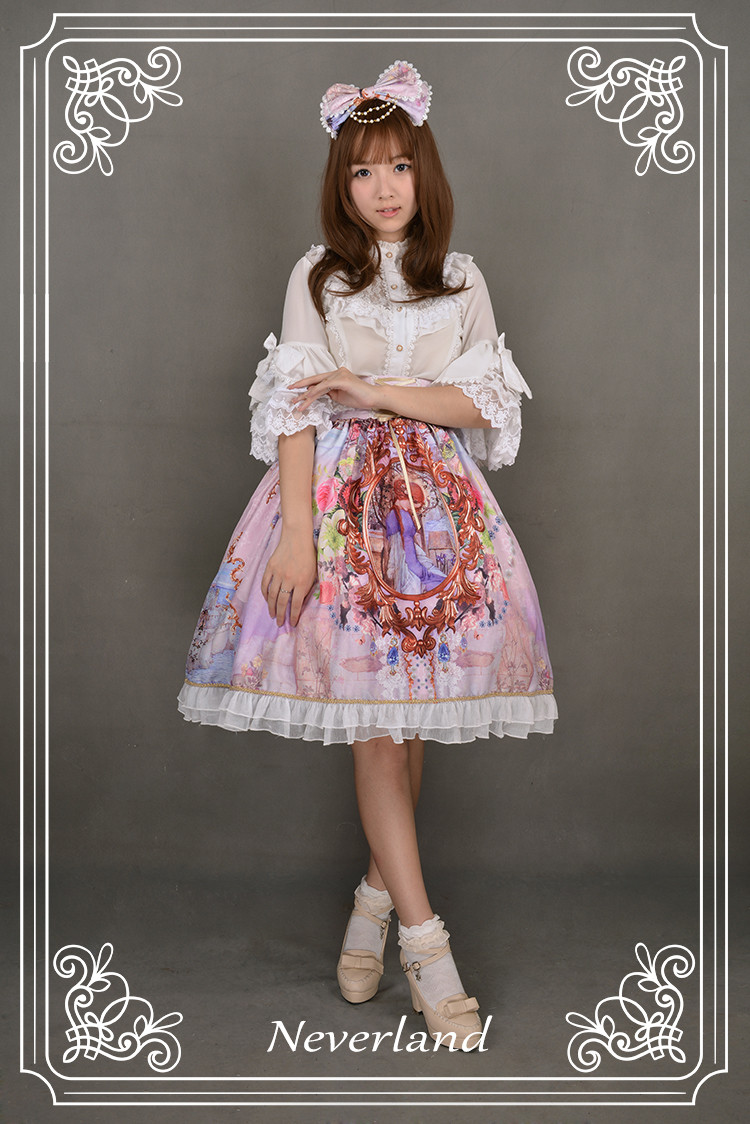 Midsummer Night High Waist Neverland Lolita Headbow