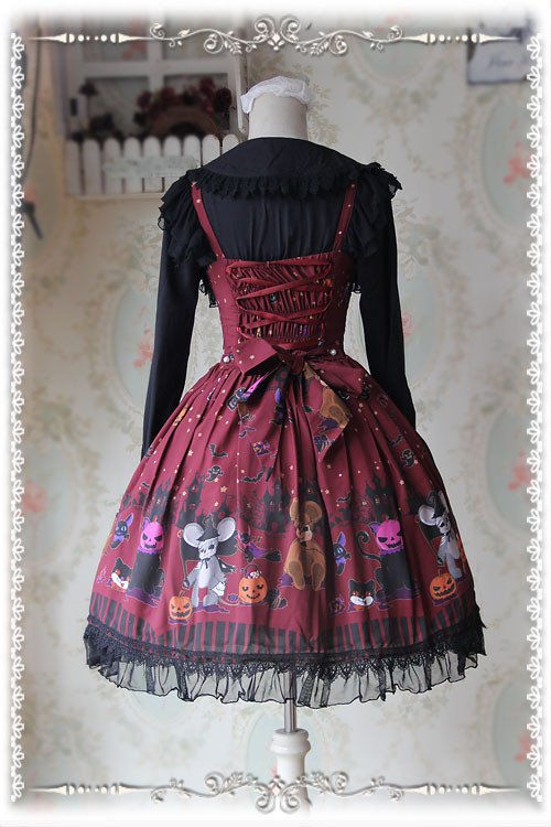 The Scary Night Infanta Lolita Jumper Dress