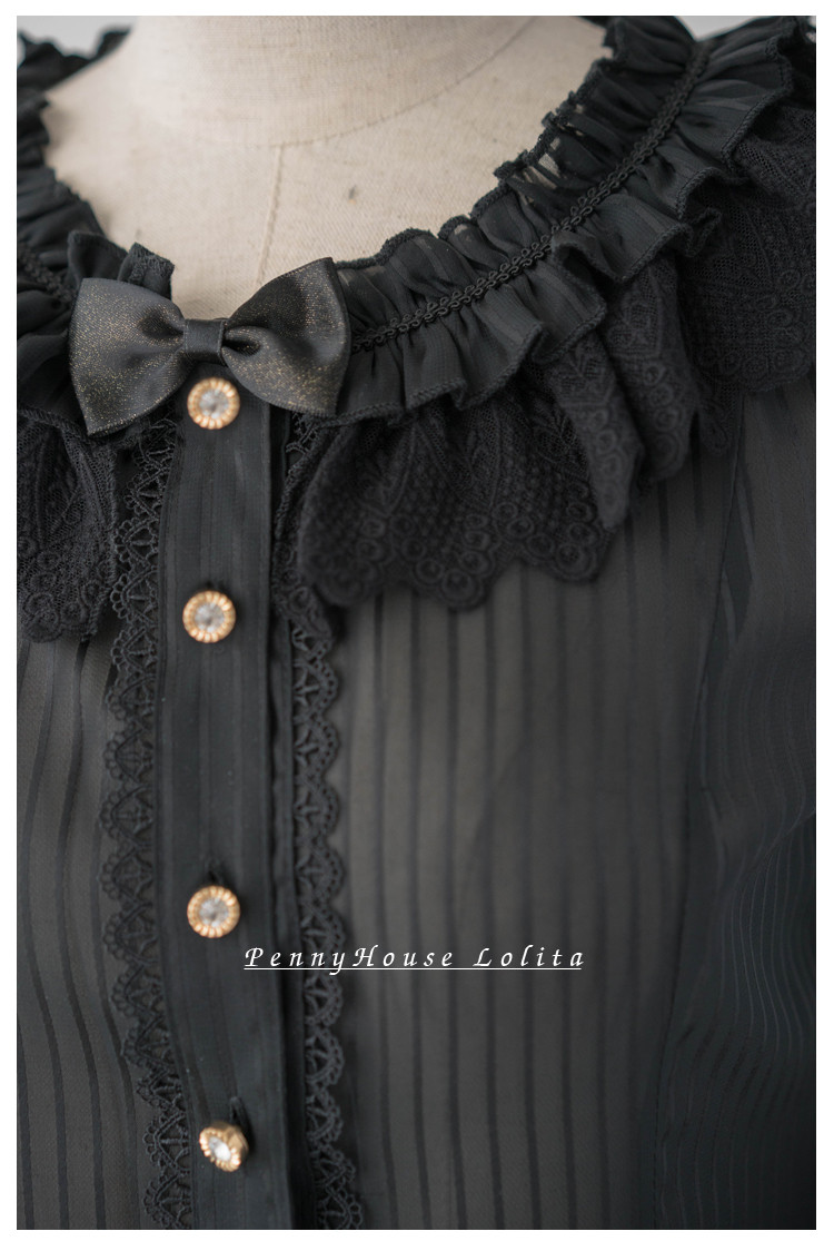 Marian Hime sleeves Penny House Lolita Blouse