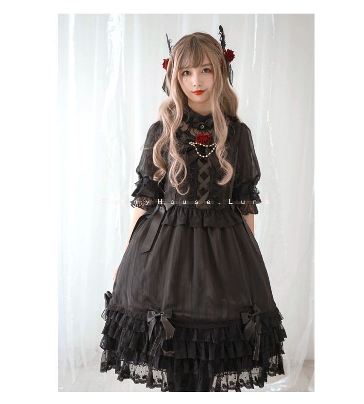 Luna Penny House Lolita OP Dress