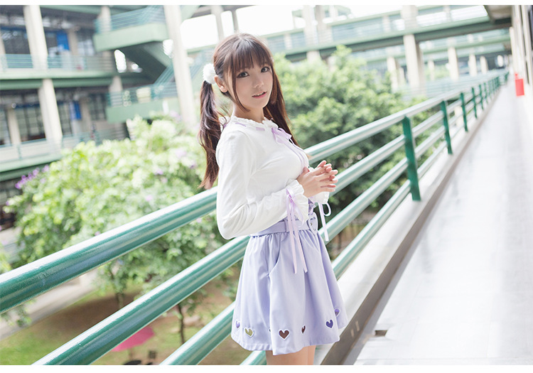 Love Long Sleeves Lolita T-shirt Blouses