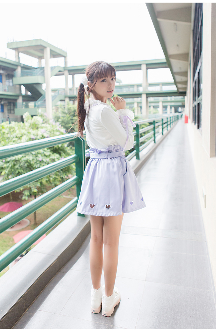 Love Lolita Suit T-shirt And Skirt
