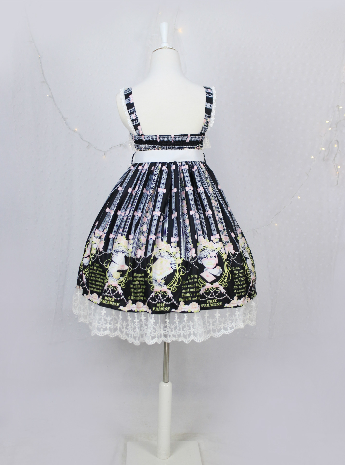 Strap Lolita Dress With Bow