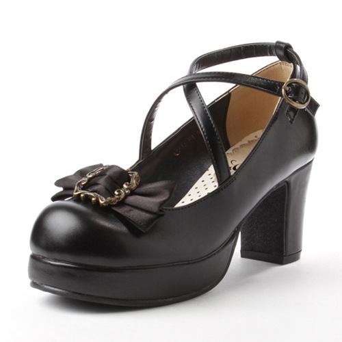 Classic Simple And Elegant PU Lolita Shoes