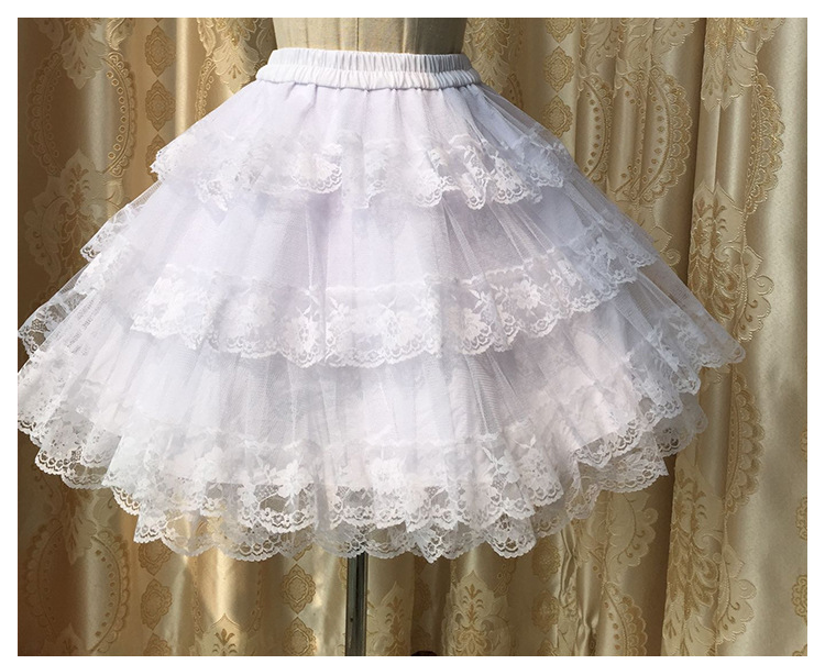 Cotton And Gauze Lolita Skirt Petticoat