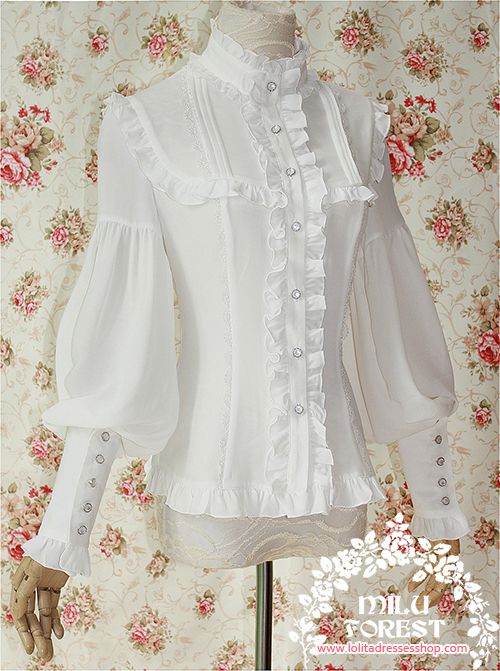 Pride And Prejudice Lolita Blouse