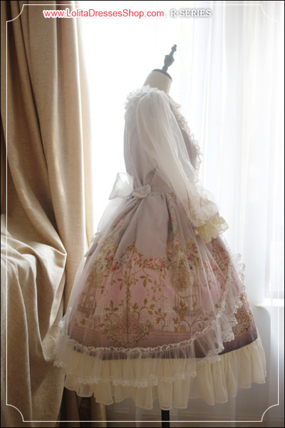 The Emperors Nightingale High Waist Lolita OP