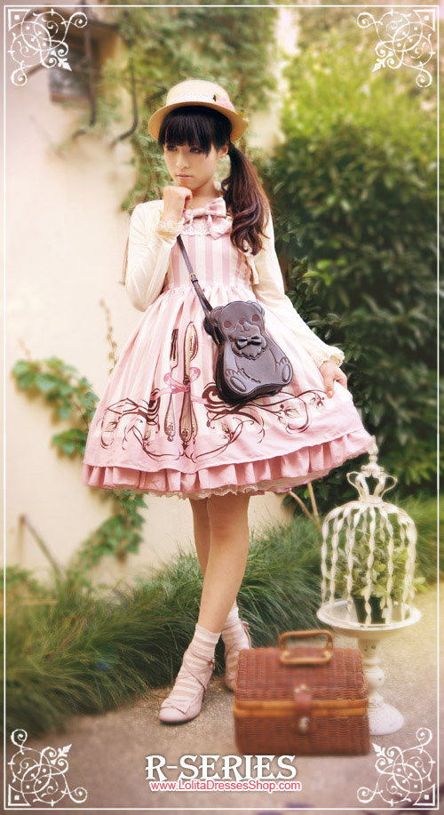 To my lovely glutton Lolita Jumper Dress