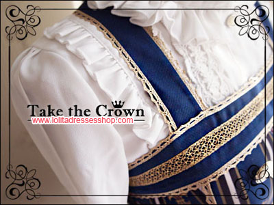 Crown Printing Take the Crown Lolita JSK