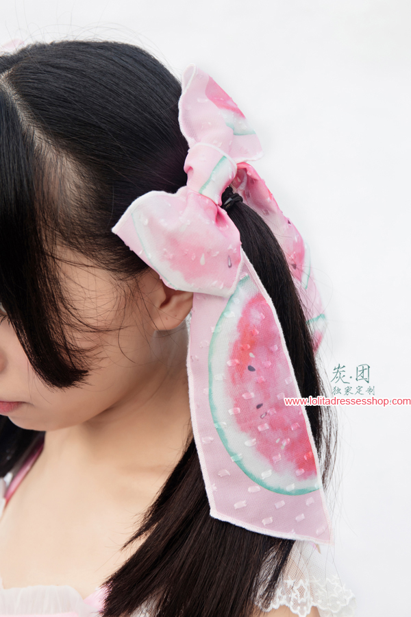 Cool Watermelon Printing Lolita Hair Clip
