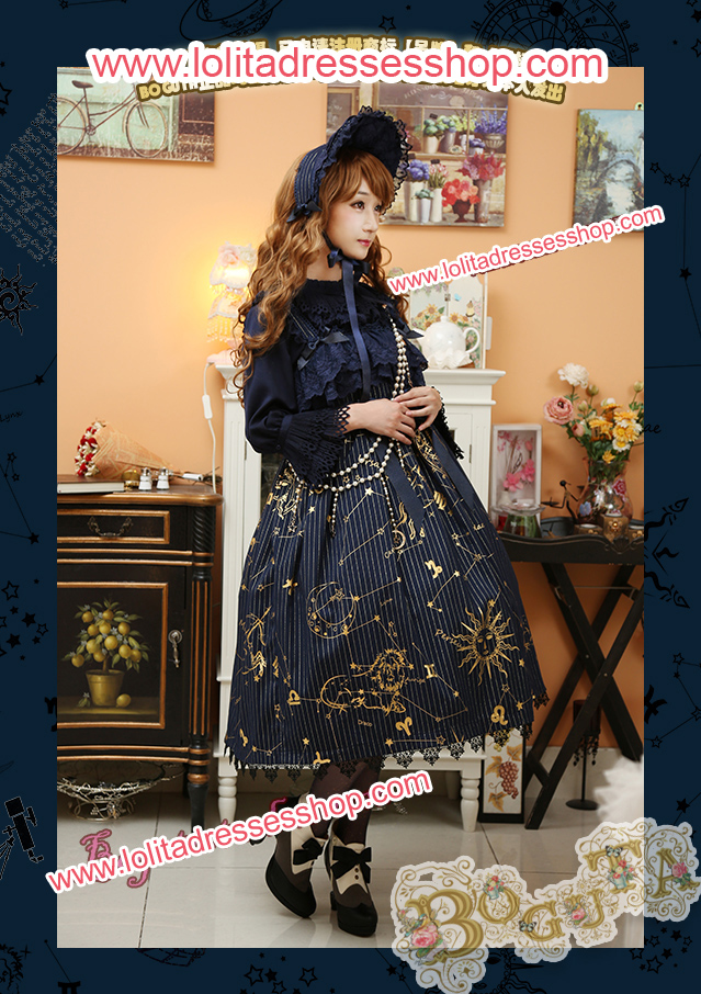 Astrology Series Classical Style Lolita Bonnet