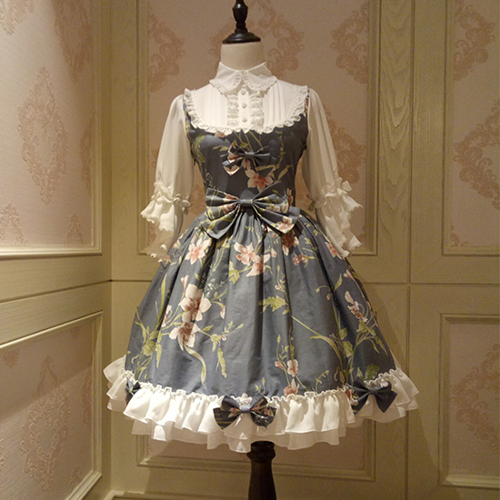 Vintage Spirit Princess Bow Lolita Dress