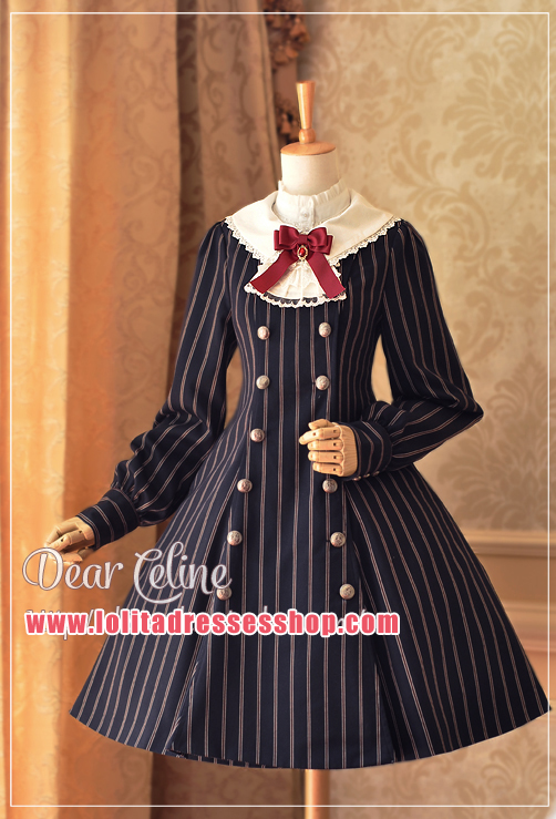 Autumn Academy Double Breasted Lolita Coat/OP Lolita Dress