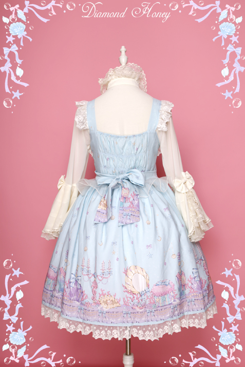 Mermaid Sweet style lolita dress