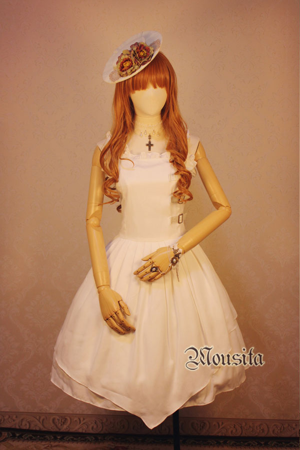 Mousita -Full Cotton Vintage Gothic Lolita JSK Accepted Tailored
