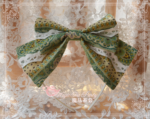 Magic Tea Party - Adelie Palace Wind JSK Matching Headband