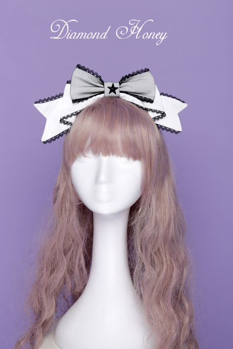 Starry Moon Cat Lolita cute sweet princess star KC headband