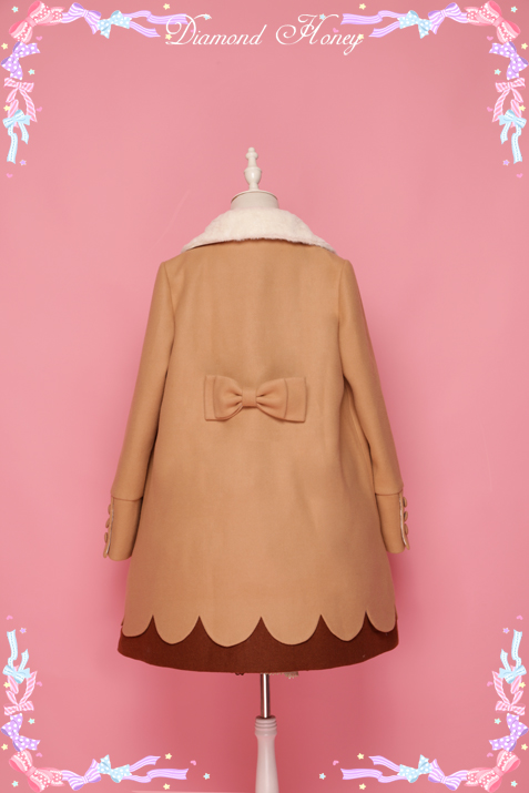 Diamond Honey -Doughnut- Sweet Dailywear Babydoll Style Coat