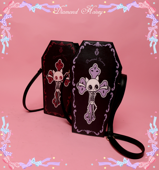 Kitty Cross Gothic Loita Crossbody Bag
