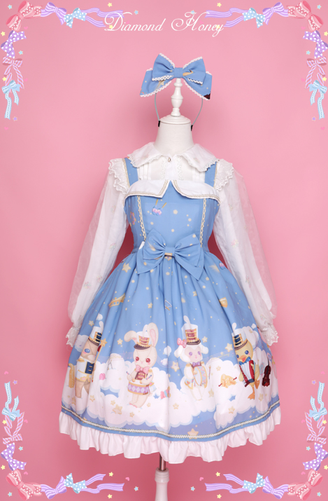 The Concert On The Cloud- Lolita JSK Dress