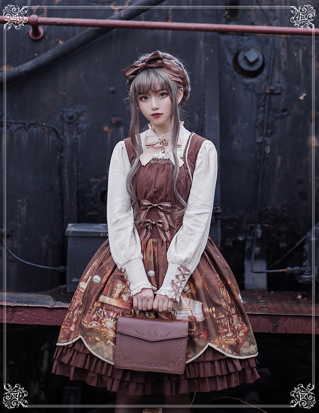 Steam Castle Retro Dress JSK