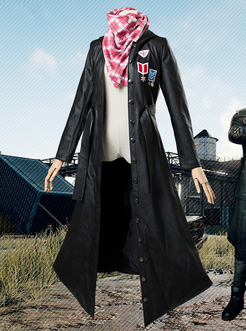 Jedi Cos Escape Large Fleece Jacket Coat Windbreaker Scarf Cosplay Costume Female