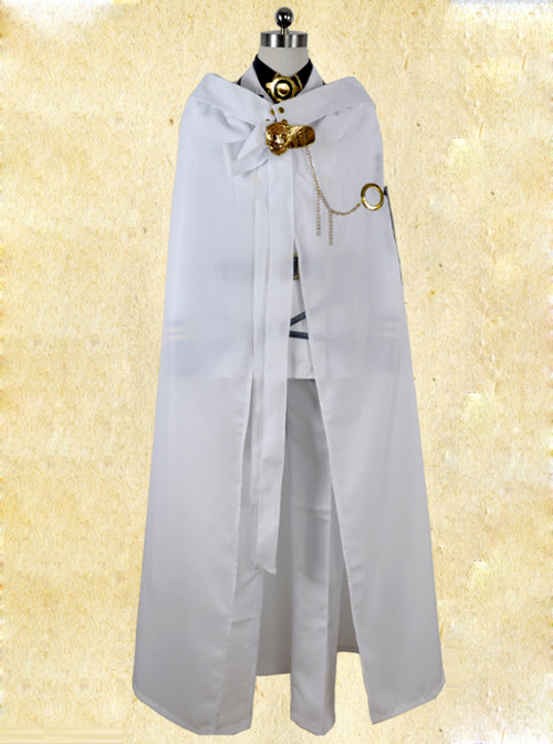 Seraph Of The End- Mikaela Hyakuya Combat Clothing Cosplay Costume
