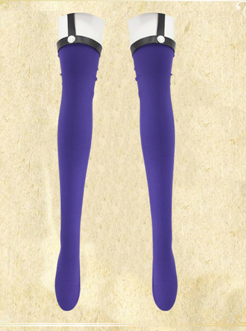 Fate Grand Order Saber Purple Sexy Cosplay Costume