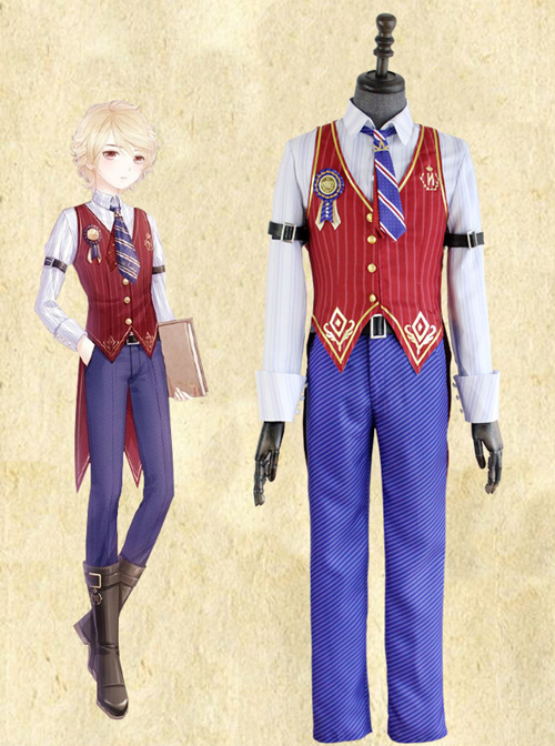 Miracle Nikki College Uniform Schoolboy Version Cosplay Costume