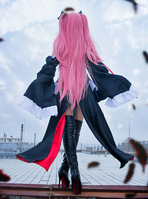 Seraph Of The End Vampire Halloween Krul Tepes Cosplay Costume