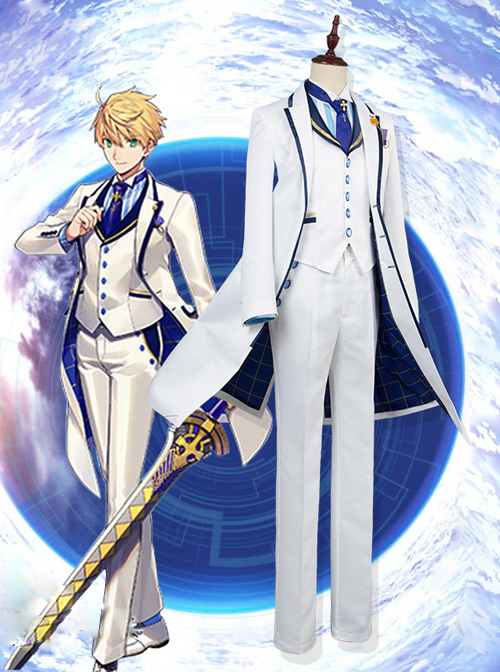 Fate/Grand Order Arthur Pendragon Cosplay Costumes