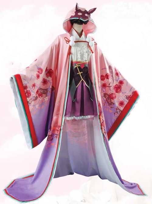 Fate/Grand Order Osakabehime Female Cosplay Costumes