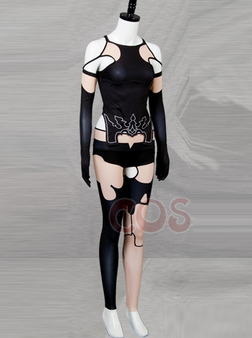 NieR:Automata A2 Siamese Tights Cosplay Costumes