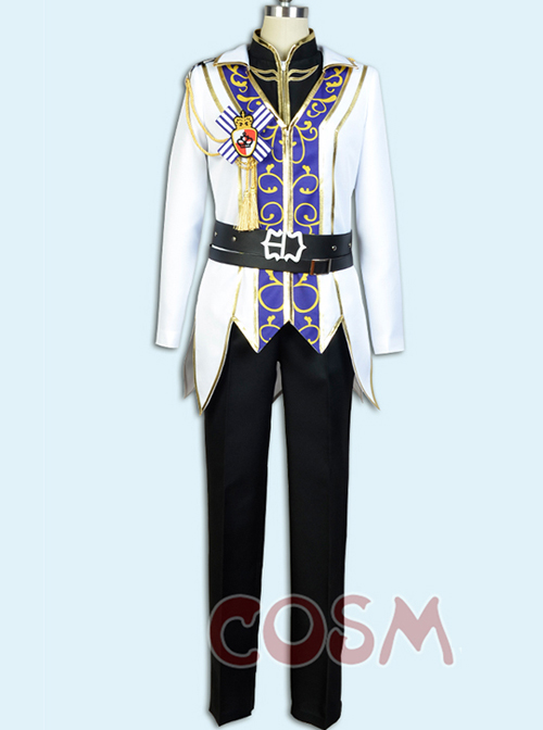 Ensemble Stars Sakuma Ritsu The Rebellion Of King\'s Riding Male Cosplay Costumes