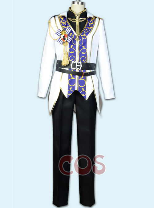Ensemble Stars Suou Tsukasa The Rebellion Of King\'s Riding Male Cosplay Costumes