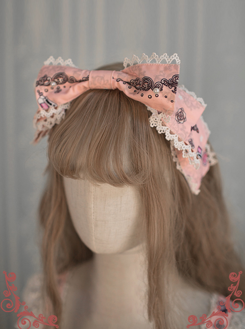 Original Lolita Designed Alice\'s Dreamland KC Hair Circle