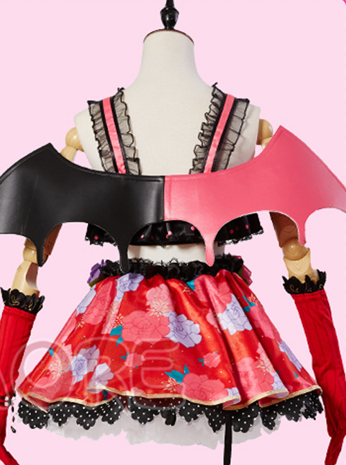 LoveLive! Little Devil Chapter Hoshizora Rin Awakening Cosplay Costumes