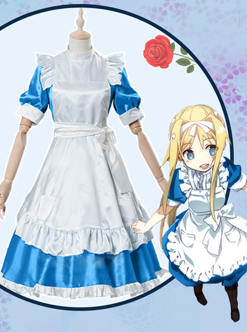 Sword Art Online Ⅲ Alicization Alice·Synthesis·Thirty Female Cosplay Costumes