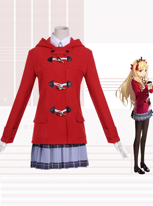 Fate Grand Order Ereshkigal LAWSON Linkage Daily Winter Wear Presale Costumes