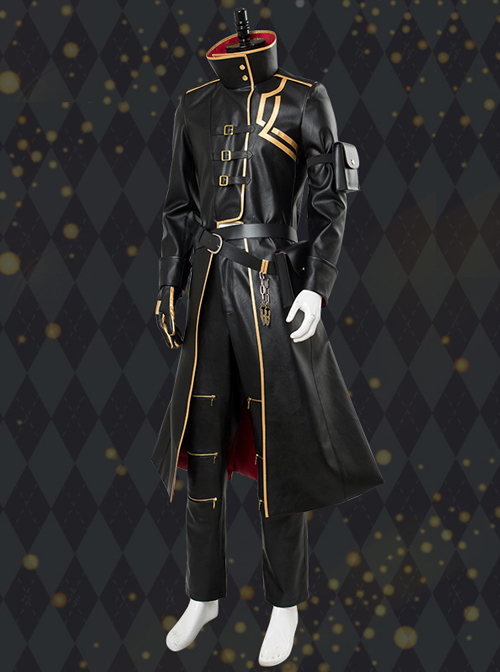 Fate Grand Order Gilgamesh Concept Dress Leather Female Cosplay Costumes