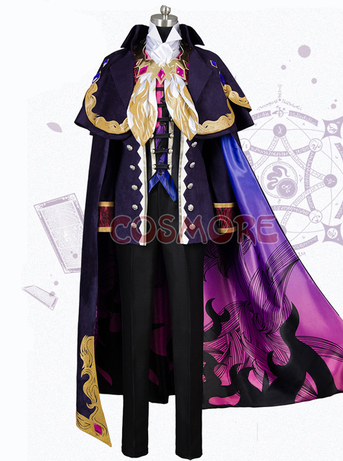 Fate Grand Order Edmond Dantès Male Cosplay Costumes