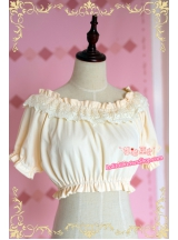 Latouchea fokiensis Franch Normal Waist Strawberry Witch Lolita Inner Blouse