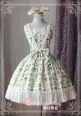 Sweet Life Printed Magic Tea Party Lolita JSK